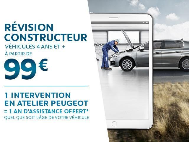 Forfait Révision à partir de 99€ - Garage Ichtertz